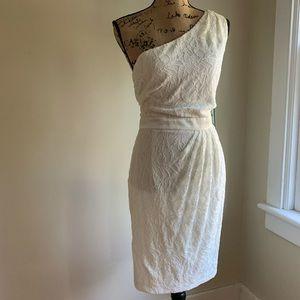 Simply Liliana white lace overlay dress size 16